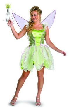 FANCY DRESS COSTUME~ GIRLS DISNEY FAIRIES TINKERBELL PIXIE FAIRY SIZES 3-8 YEARS