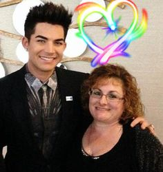 I met Adam again at the GLAAD Awards in San Francisco on May 11, 2013