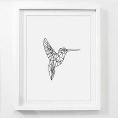 Hummingbird Most Popular Items Geometric Nursery Art
