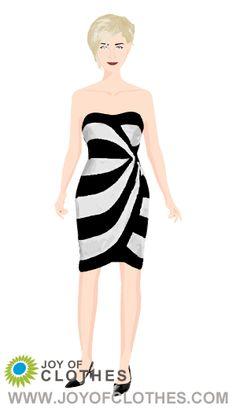 Stripe Dress Fashion - By Michaela Jedinak