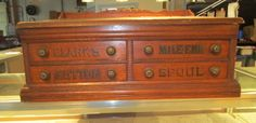 Spool Cabinet up for Auction March 10