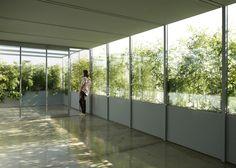 Foliage-clad pavilion by Adam-Faiden creates rooftop home