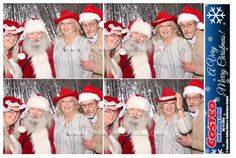 #Photobooth with #Santa at Costco #StaffParty http://www.paradiseevents.com/photo-booth-rental/ #Partyideas #Christmaspartyideas #Partyrentals #PhotoBooth