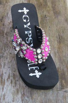 Gypsy Soule Daisy Flip Flop
