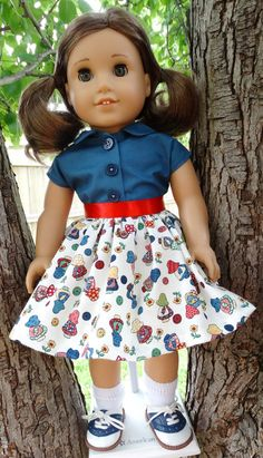 1950's Style Summer Outfit for AG Maryellen by Designed4Dolls on Etsy $24.95