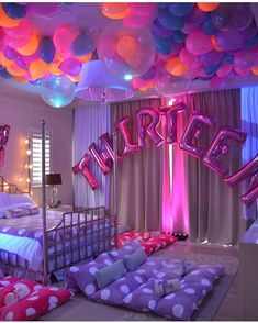 Babygurl birthday ideas 13th Birthday Party Ideas For Teens, Birthday Sleepover Ideas, Teen Girl Birthday, Sleepover Ideas For Teens, Sleep Over Party Ideas, Hotel Sleepover Party, Slumber Party Ideas, Teen Birthday Parties, Sleepover Birthday Parties