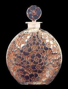 So beautiful almost makes me cry.  Art of Rene Lalique French Designer Perfume Bottles