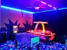 Image result for black light arcade