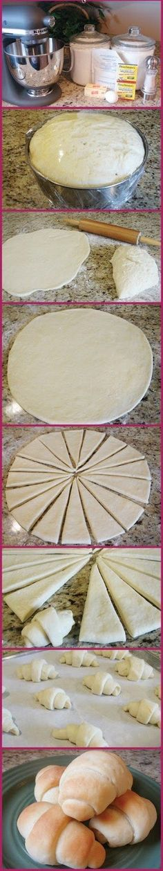 Best Crescent Rolls Ever Recipe - absolute BEST! Not only is the recipe easy, but they come out so soft and buttery and they just melt in your mouth