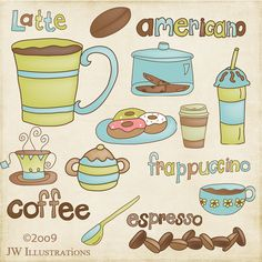 Coffee Addiction by JWIllustrations, via Flickr