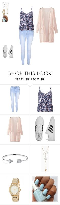 """""""Back To School #2"""" by hammiegrl on Polyvore featuring Glamorous, Miss Selfridge, WithChic, adidas, Bling Jewelry and DKNY"""