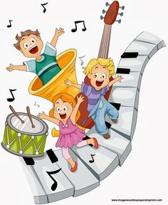 Music Clipart - Illustration by BNP Design Studio Musik Clipart, Music Clips, Cute Clipart, Music Images, School Decorations, Music For Kids, Teaching Music, Music Lessons, Music Education
