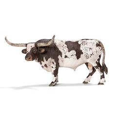 Schleich Texas Longhorn Bull Toy Figure