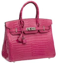Hermes croc Birkin ~ A must-have.....one day.....