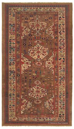 SULTANABAD - West Central Persian 12ft 4in x 16ft 8in Late 19th Century