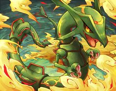 """You can only post in this thread if your favorite Pokemon is a starter, legendary, or eeveelution - """"/vp/ - Pokémon"""" is imageboard dedicated to discussing the Pokémon series of video games and shows. Rayquaza Pokemon, O Pokemon, Pokemon Fan Art, Charizard, Mega Rayquaza, Pokemon Stuff, Pokemon Images, Pokemon Pictures, Wallpaper Pokémon"""