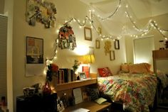 Beautiful teenage girl room lights decor! #loveit!! <3 #sopretty #myfutureroom