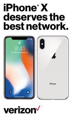 iPhone X features a new all-screen design. Face ID, which makes your face your password. And the most powerful and smartest chip ever in a smartphone.