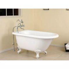 small acrylic clawfoot tub. Randolph Morris 54 Inch Acrylic Classic Clawfoot Tub  No Drillings 43 Carter Mini Bathtubs Tubs And Acrylics