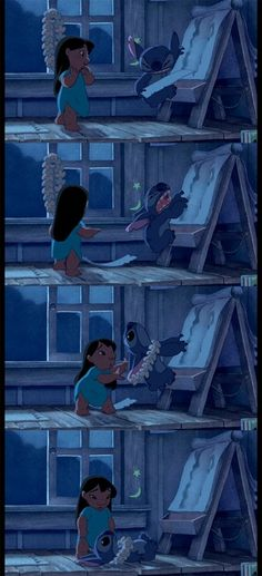 """You wreck everything you touch. Why not try making something for a change!"" Love Lilo and Stitch!!"