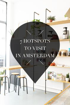 """Amsterdam has great hotspots! Want to know where these bars, cafes and restaurants are? Check the list on travel blog http://www.yourlittleblackbook.me. Planning a trip to Amsterdam? Check http://www.yourlittleblackbook.me/ & download """"The Amsterdam City Guide app"""" for Android & iOs with over 550 hotspots: https://itunes.apple.com/us/app/amsterdam-cityguide-yourlbb/id1066913884?mt=8 or https://play.google.com/store/apps/details?id=com.app.r3914JB"""