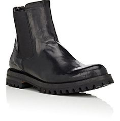 Officine Creative Washed Leather Chelsea Boots - Boots - 504567048