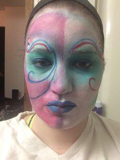 Went for a cirque du Soleil look