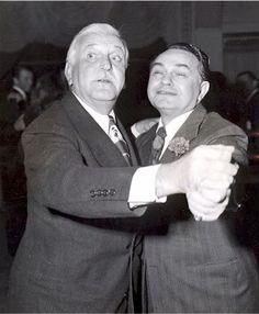 Frank Morgan and Edward G. Robinson