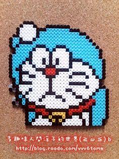 Doraemon hama perler beads