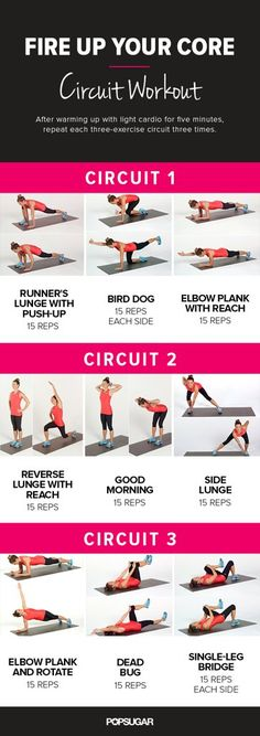 Do This 20-Minute Bodyweight Circuit Workout And You'll Feel Awesome Afterward