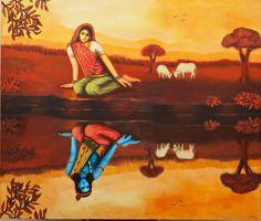 Radha and Krishna Lord Krishna Images, Radha Krishna Pictures, Radha Krishna Photo, Krishna Art, Radhe Krishna, Shree Krishna, Krishna Lila, Baby Krishna, Cute Krishna