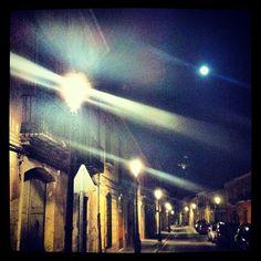 #calleMayor#godella#noche Fotografia de Victor Martinez Marti
