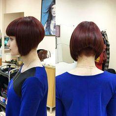 Shorter & shorter   #shorthair #carre #bobhaircut... - go shorter