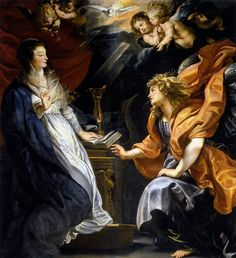 La Anunciación por Rubens.
