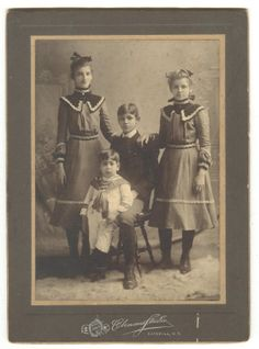 cabinet cards images | Judy's Postcards Plus: Cabinet Card Family Portrait - Wordless ...