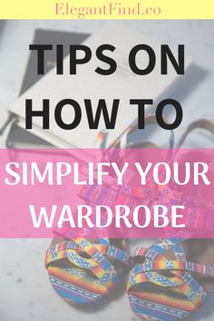 How to Simplify Your Wardrobe