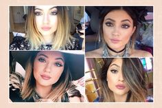 Kylie Jenner makeup: lipstick colors and drugstore dupes. Info via the link; scroll down the page to find the blog entry.