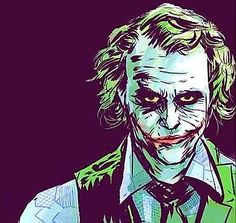 ☆Heath Ledger / The Joker☆ Joker Dc, Joker And Harley Quinn, Batman Joker Tattoo, Joker Wallpapers, Cute Wallpapers, Comic Book Characters, Comic Character, Kings & Queens, Heath Ledger Joker