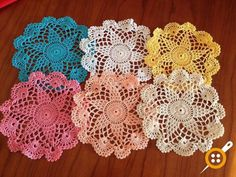 Coasters, Crochet Earrings, Diy Crafts, Embroidery, Knitting, Formal, Jewelry, Templates, Crafts