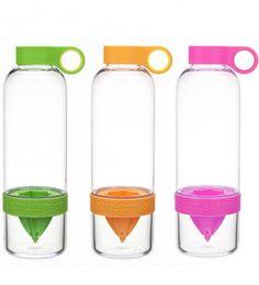Zing Anything Citrus Zinger Reusable Water Bottle, 28 oz