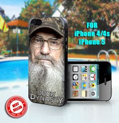 Si Robertson Duck Dynasty   Print on Hard Case  Fit by SingoEdan, $15.00