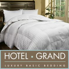 HOTEL GRAND OVERSIZED 500 THREAD COUNT EXTRA WARMTH SIBERIAN WHITE DOWN COMFORTER Click for details  http://wkup.co/cash_back/MTY2MDE3NzY5/MTE3NDcxMg==