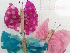 Schmetterlinge DIY …