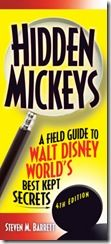 A review of the book - Hidden Mickeys - A Field Guide to Walt Disney World's Best Kept Secrets