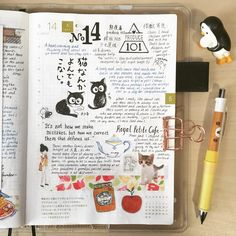 The Japanese make the BEST cat movies~ #doodle #drawing #diary #daily #dailysketch #journal #hobo #hobonichi #hobonichitecho #washi #design #絵日記 #手帳 #ほぼ日 #文具控 #文具 #winsorandnewton #手繪 #水彩 #手帳好朋友 #stationery #penguins #travel #penguinscreative #urbanjournal #urbanjournaling #ほぼ日手帳