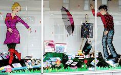 Art Store Window Display - Ottawa 06 08 by Mikey G Ottawa, via Flickr
