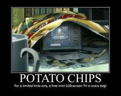 Motivation - Potato Chips by Songue.deviantart.com on @deviantART I'll take a potato chip, AND EAT IT!