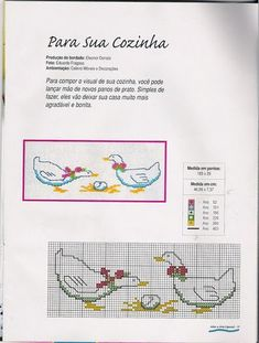 Solo Patrones Punto Cruz (pág. 1065) | Aprender manualidades es facilisimo.com