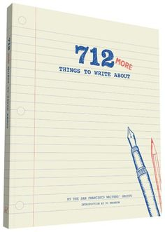 Get 25% off + free ground shipping! Enter promo code 642SERIES at checkout.  Here are 712 more witty, outrageous, and thought-provoking writing prompts for fans of the superpopular 642 Things to Write About—all guaranteed to get the creative juices flowing: from listing childhood hiding places and describing the sensation of falling asleep to creating memorable characters, unusual fortune cookie messages, and mash-up movie plotlines. A great gift for avid authors, occasional journal...