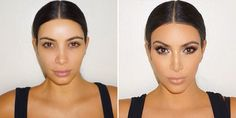 10 Secrets to Mastering Kim Kardashian& Makeup - Kim Kardashian Makeup Routine Makeup Inspo, Makeup Inspiration, Makeup Tips, Beauty Makeup, Makeup Products, Makeup Style, Hair Products, Blue Smokey Eye, Beauty Secrets